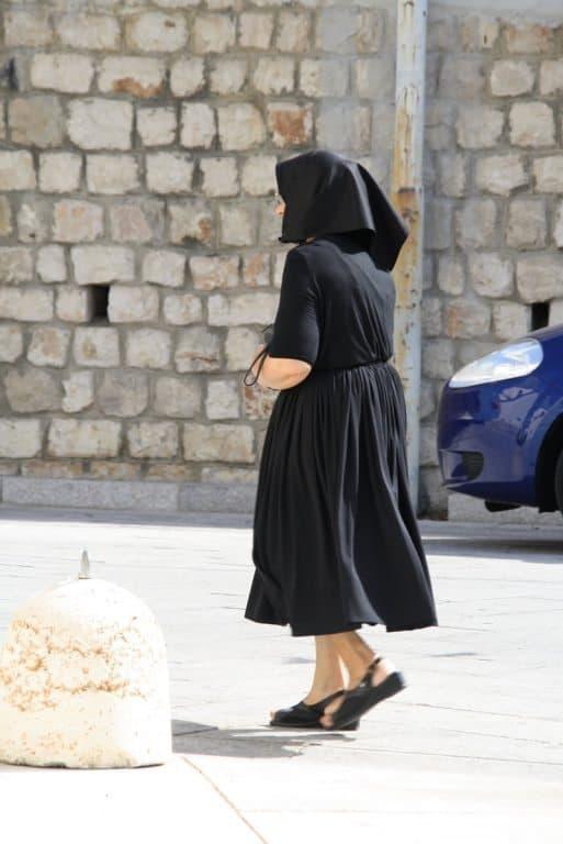Traditional dress in Sardinia