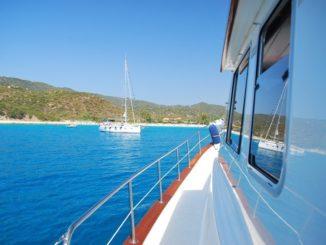 Blue, blue sea
