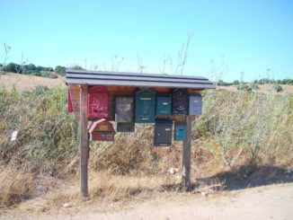 Letter Boxes middle of Nowhere