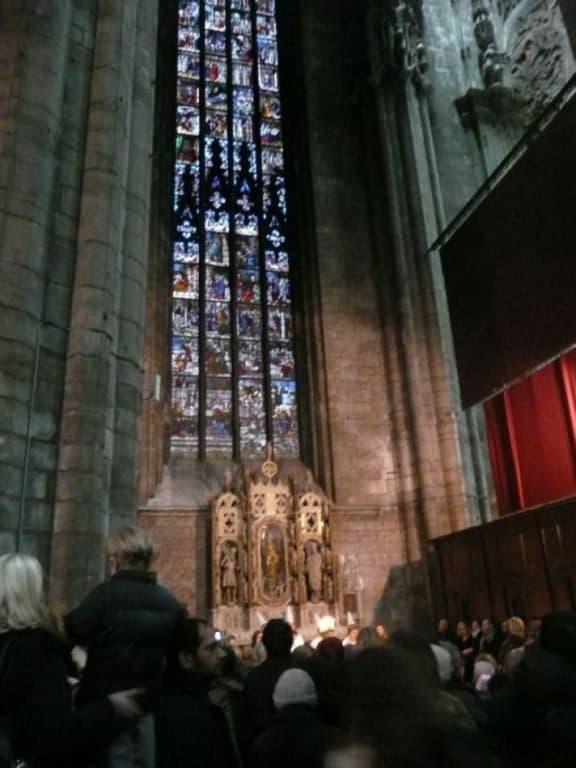Dentro il Duomo