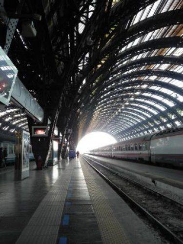 Viaggio in treno verso Nizza in Francia