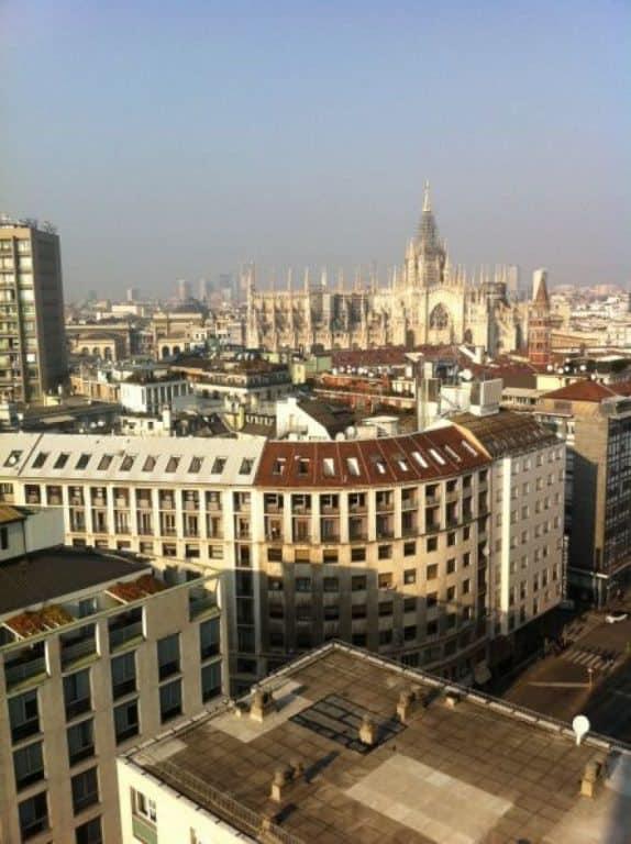 View of Duomo of Milan