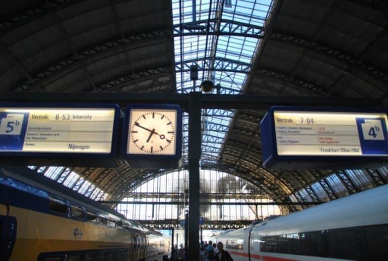 Un altro viaggio in treno da Amsterdam