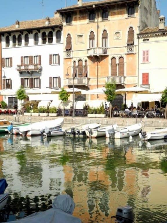 Il Lago di Garda in un giorno di sole