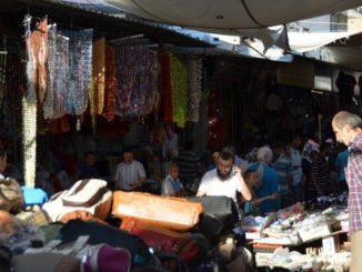 Overwhelmed by Konya's market