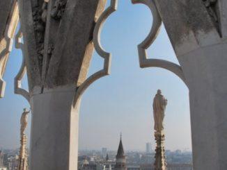Salire sul tetto del Duomo