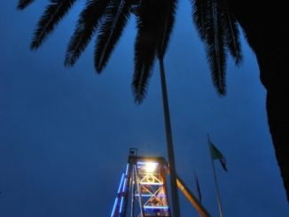 One night at Finale Ligure