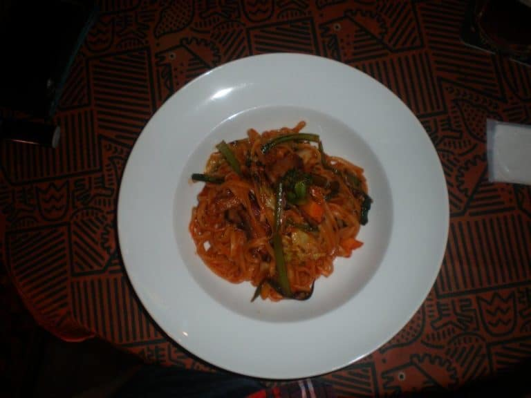 'Read' a pasta dish