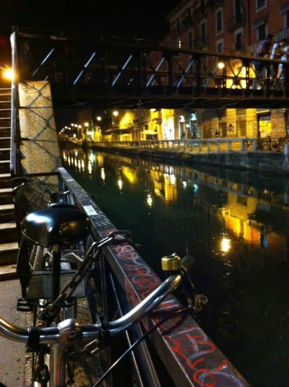 ミラノの運河