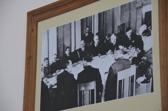 Partecipanti alla Conferenza di Yalta in Crimea