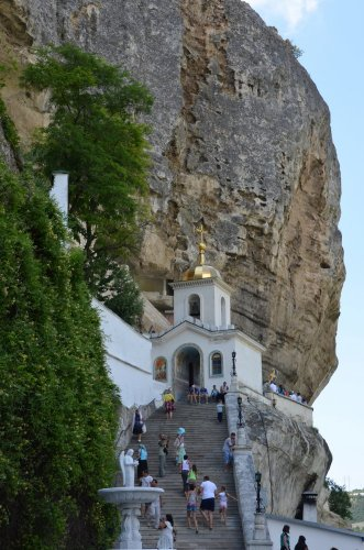 Cave monastery