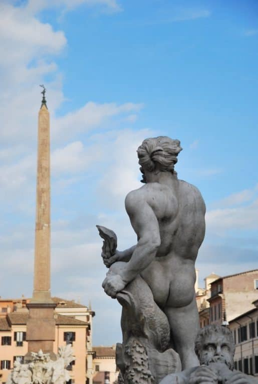 Piazza Navona after 31 years