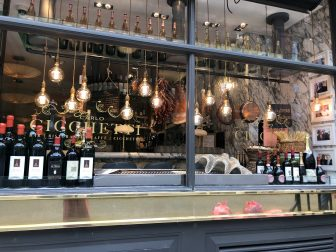 Cicchetti restaurant in London