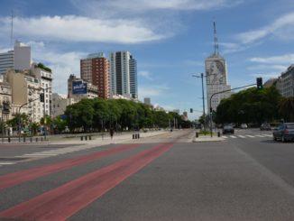 A Buenos Aires la capitale dell'Argentina