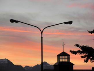 evening view – lamp, Dec.2015