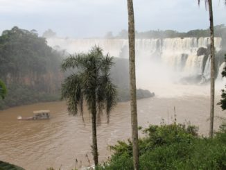 Argentina cascate dell'Iguazu