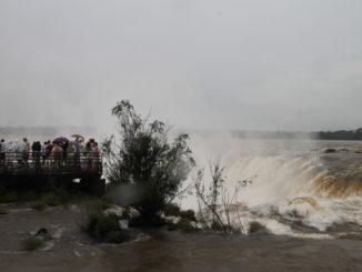 La 'gola del Diavolo' a Iguazu