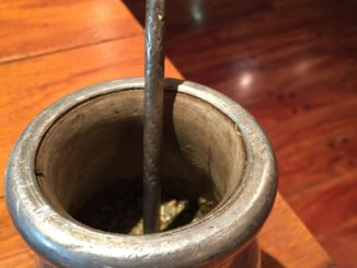 I tried Mate tea in Iguazu