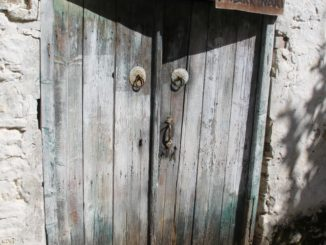 Omodos – old door, Mar.2015