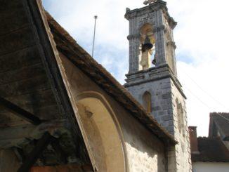 Chrysorrogiatissa – bell tower, Mar.2015