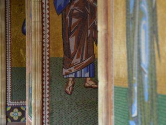 Kykkos Monastery – mosaic, Mar.2015