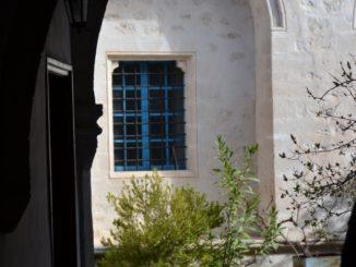 Chrysorrogiatissa – blue window, Mar.2015