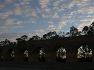 Tunisia – Roman viaduct, Dec.2008