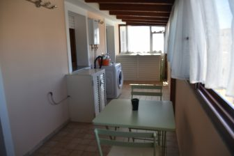 Italy-Sardinia-Alghero-Airbnb-Alice's Colourful House-utility room