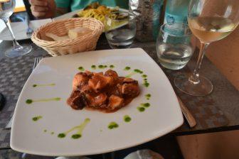 イタリア サルディニア アルゲーロ レストラン Trattoria da Mirko タコ料理