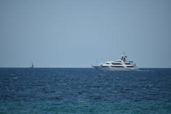 イタリア サルディニア島 アルゲーロ 海 船