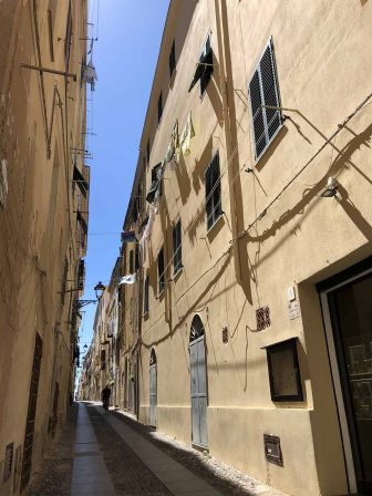 イタリア サルディニア アルゲーロ 路地