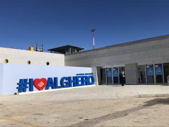 イタリア サルディニア アルゲーロ 空港
