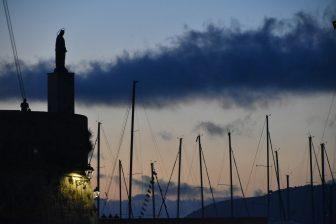 Sardegna Alghero al tramonto
