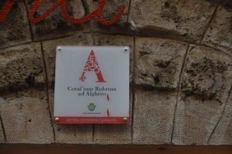 Italy-Sardinia-Alghero-certificate for Sardinian corals