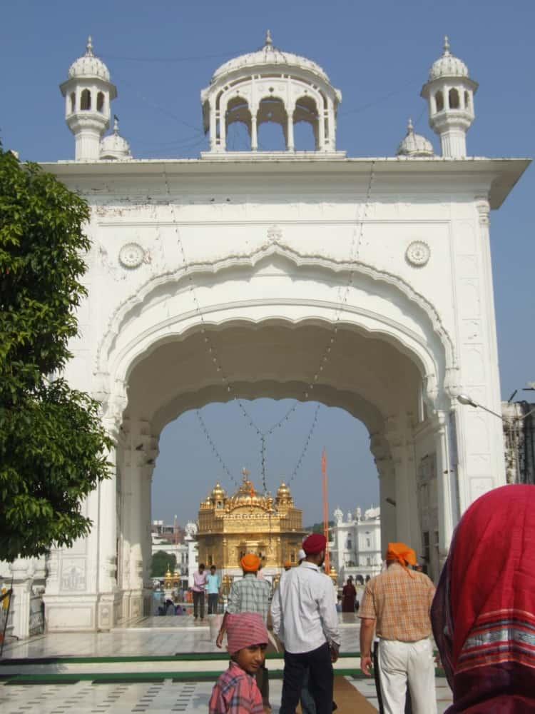 india, Amritsar – gate, Sept.2006 (Amritsar)