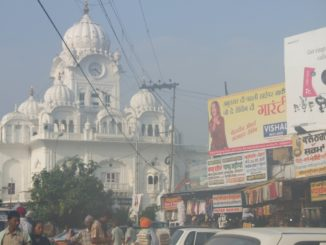 india, Amritsar – dusty town, Sept.2006