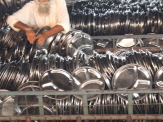 india, Amritsar – tableware, Sept.2006