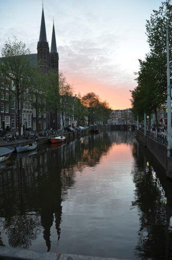 tramonto-amsterdam-olanda-canale