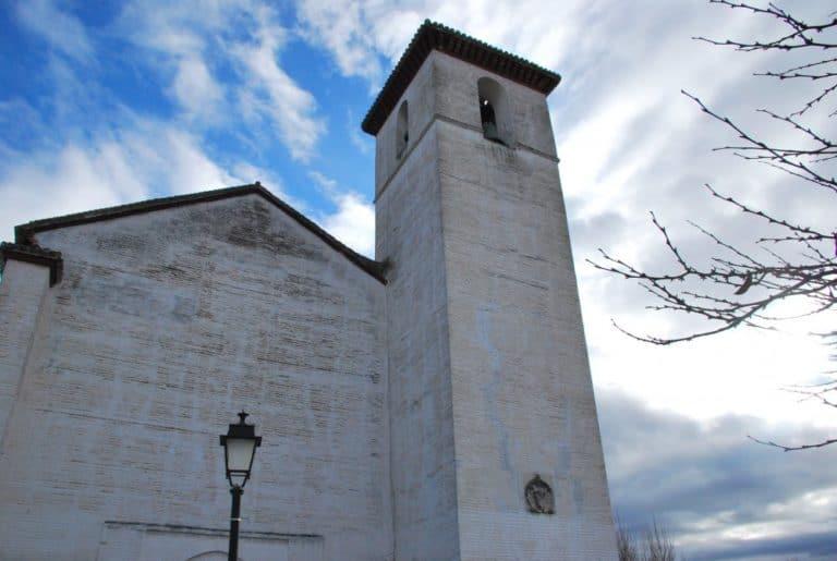 スペイン、グラナダ-白い教会 2010年12月 (アンダルシア) (グラナダ)