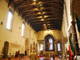 Italy, Arezzo – inside church, Nov.2014
