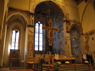 Italy, Arezzo – altar, Nov.2014
