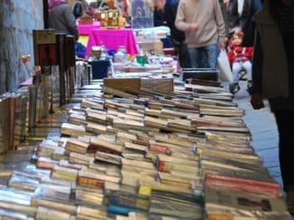 Italy, Arezzo – books, Nov.2014