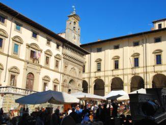 Italy, Arezzo – Piazza Grande, Nov.2014