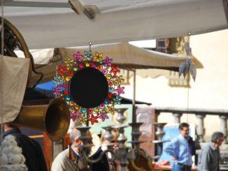 Italy, Arezzo – mirror, Nov.2014