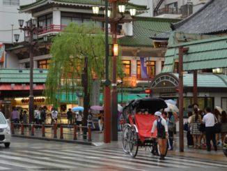 Japan, Tokyo – Rickshaw in Asakusa, Aug.2014