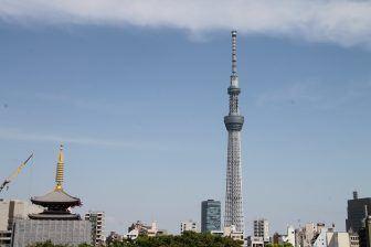 Asakusa – two towers, Apr.2017