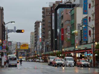 Japan, Tokyo – avenue, Aug.2014