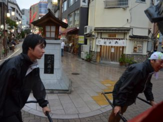 Japan, Tokyo – Rickshaw pullers, Aug.2014