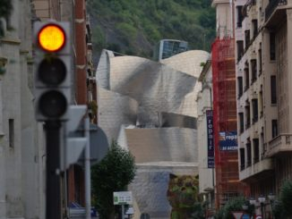 Spain, Bilbao – dog, May 2014