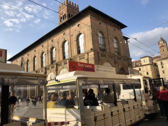 Italy-Bologna-Piazza Maggiore-Trenino-San Luca Express